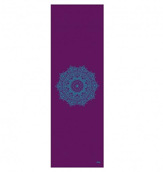 Podložka na jógu LEELA Eggplant Mandala