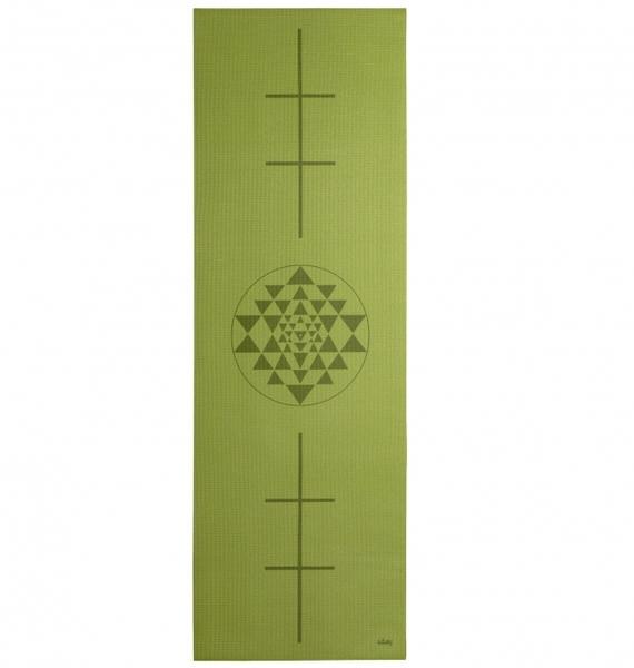 Podložka na jógu LEELA OliveYantra/Alignment