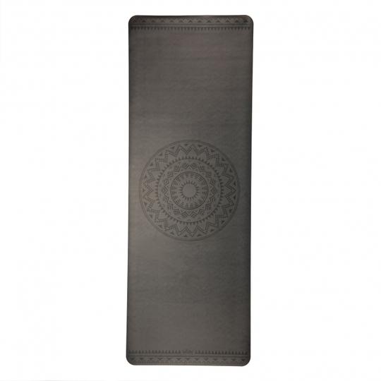 Podložka na jógu PHOENIX black with Ethno Mandala